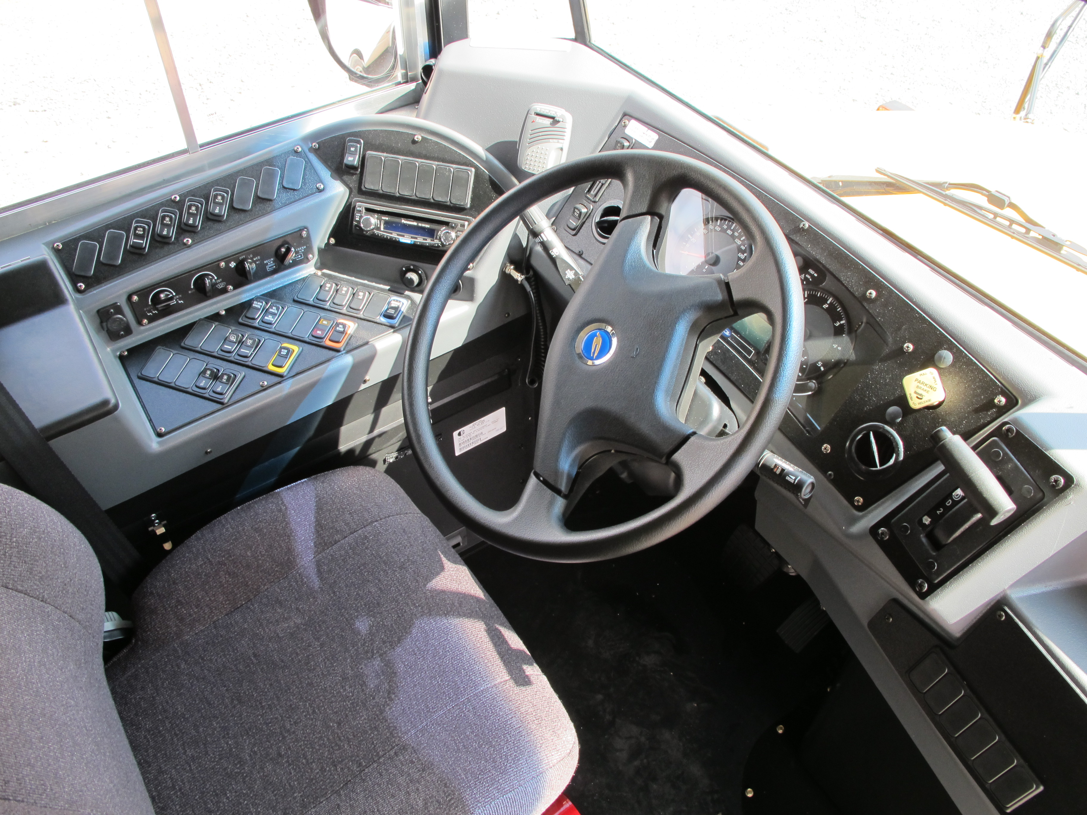 2011_Blue_Bird_Vision_dashboard