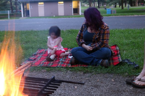mom-and-daughter-camping-harrison-lake-state-park-ohio