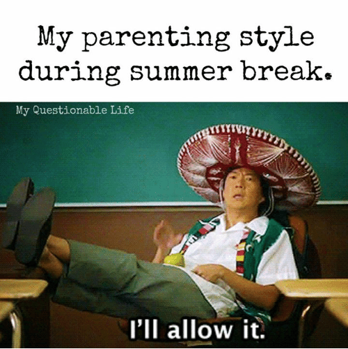 parenting-style-during-summer-break